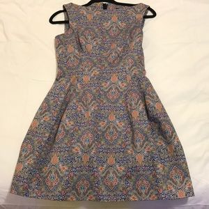 ZARA fit & flare dress, Size S!